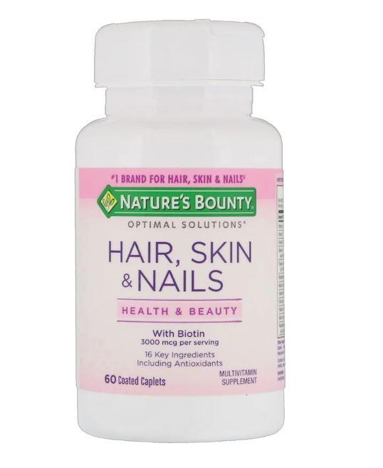Nature's Bounty 頭髮、皮膚及指甲 (60 粒)
