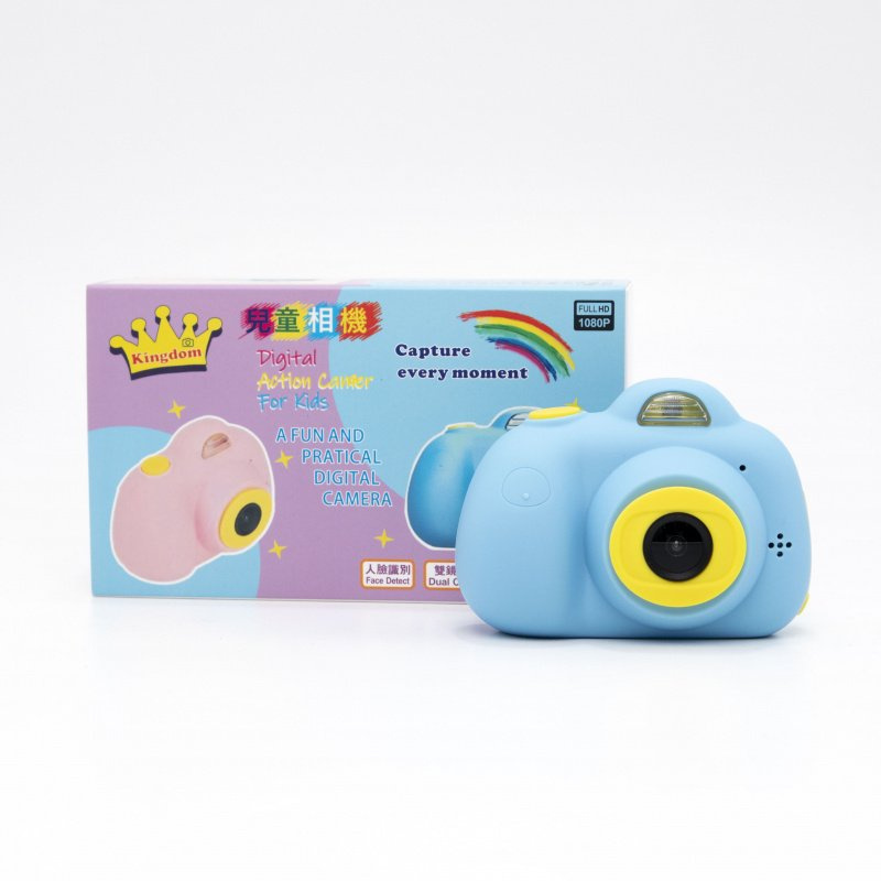 Kingdom D6 六代 1800萬像素雙鏡頭 兒童相機 [4色]