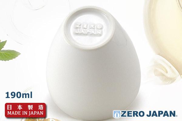 Zero Japan高身茶杯(WH)|日本製造