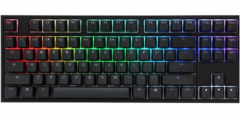 Ducky One 2 TKL RGB 機械式鍵盤 (青軸)