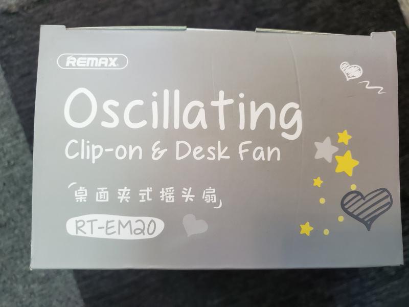 Remax 360度香水搖頭風扇 RT-EM20 (超強電量24小時續航)