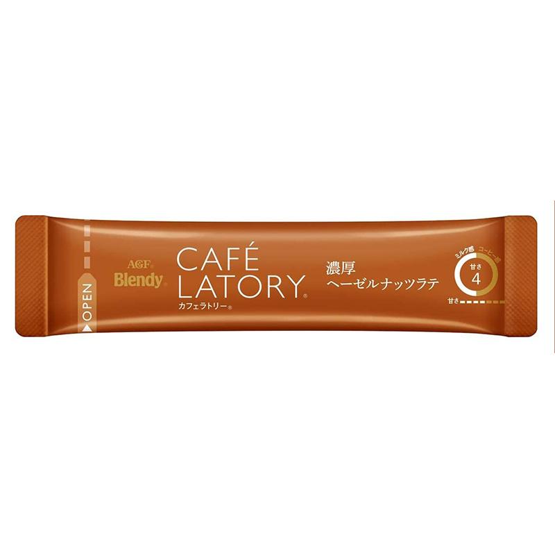 日版AGF Blendy Café Latory【榛子咖啡拿鐵 Latte】(1盒7條)【市集世界 - 日本市集】