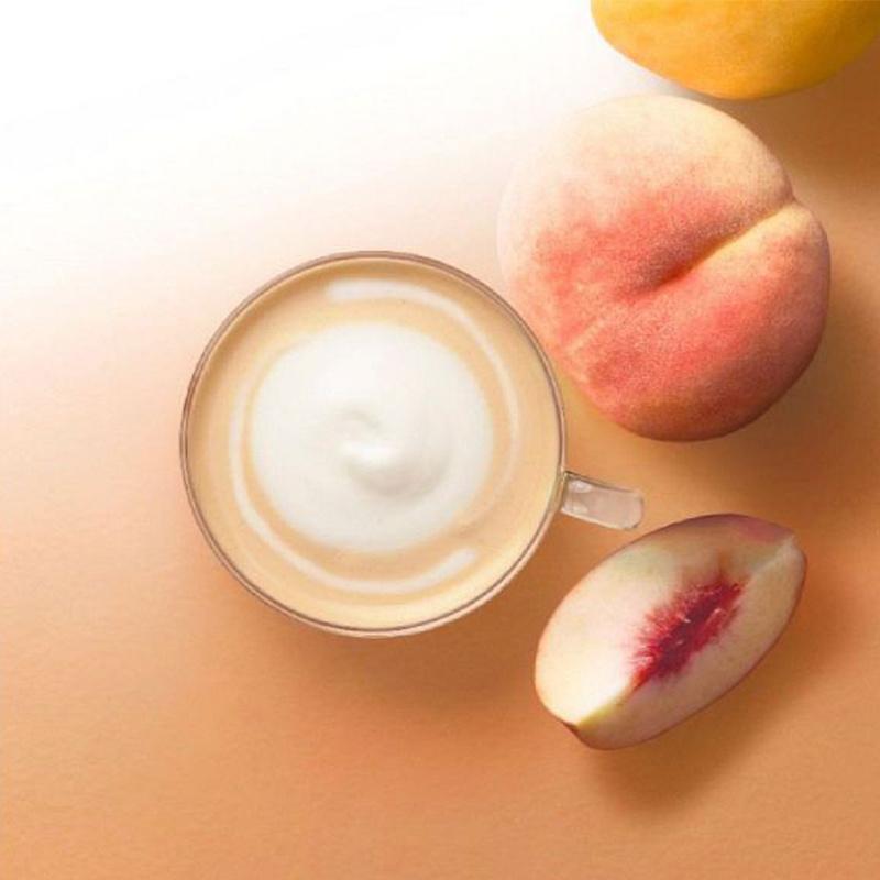 日版AGF Blendy Café Latory【芳醇水蜜桃奶茶】(1盒6條) (2件裝)【市集世界 - 日本市集】