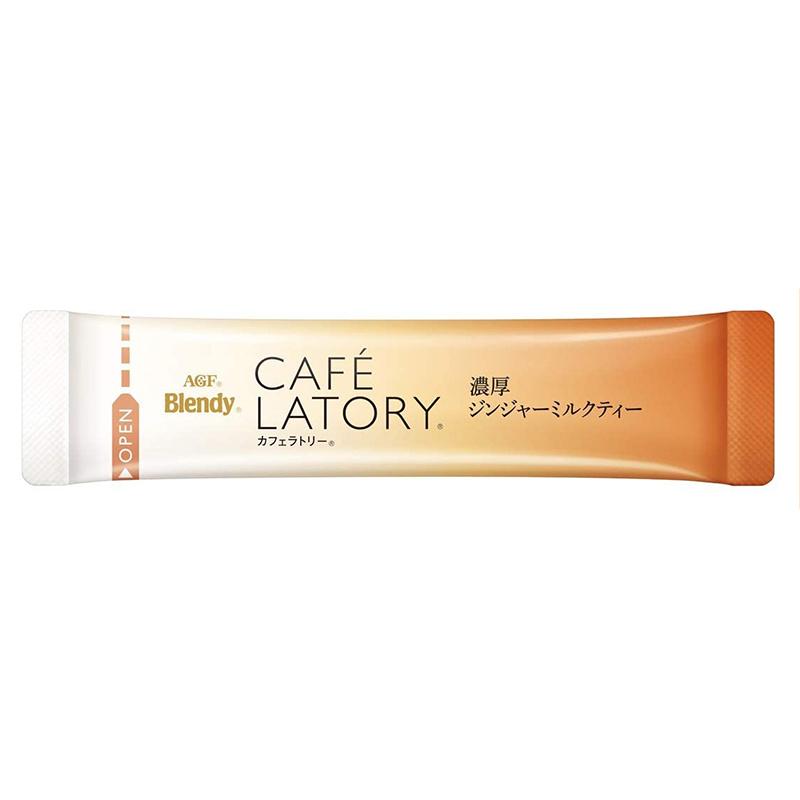 日版AGF Blendy Café Latory【濃厚生薑奶茶】 (1盒6條) 【市集世界 - 日本市集】