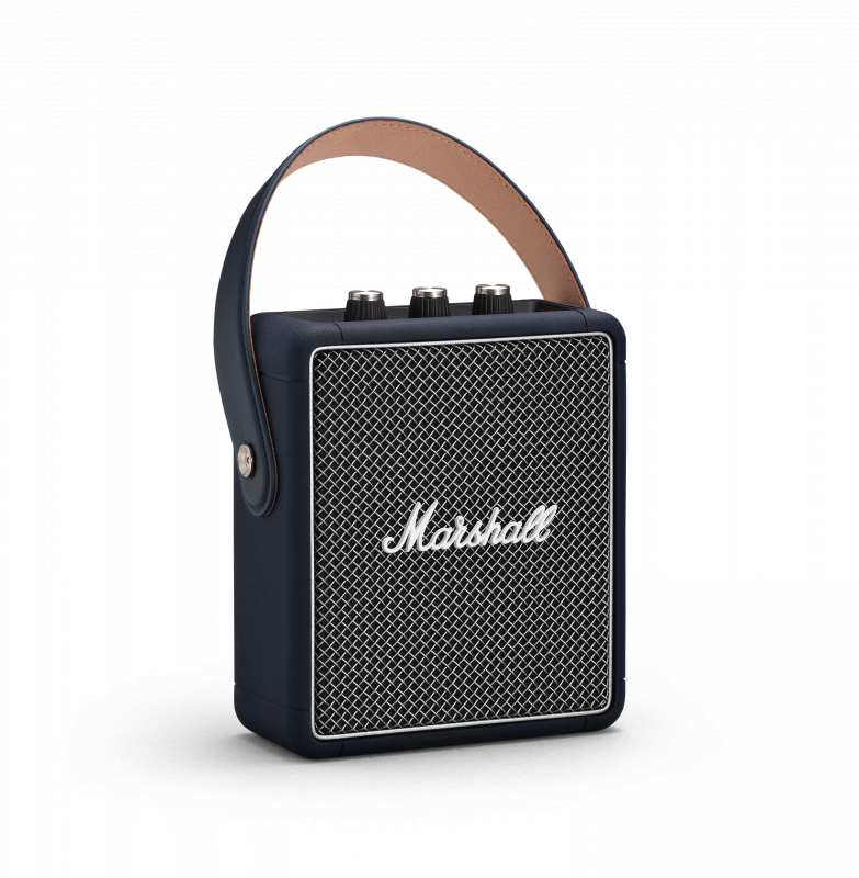 行貨 MARSHALL Stockwell II 攜帶式藍牙喇叭 - 深藍 - INDIGO