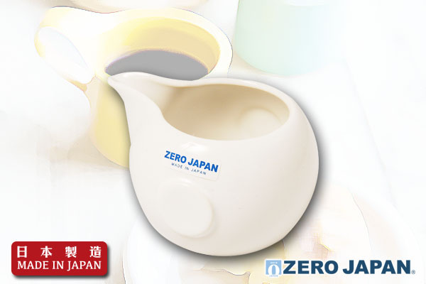 ZeroJapan咖啡奶壺(白)|日本製造