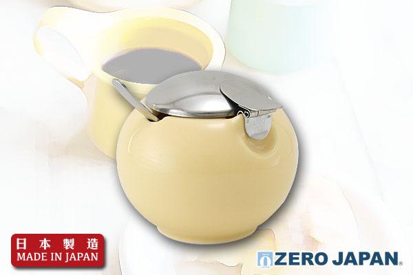ZeroJapan小巧咖啡糖瓶 (奶黃)|日本製造