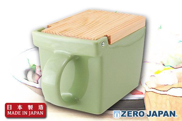 ZeroJapan型格調味盒(青瓷綠)|日本製造