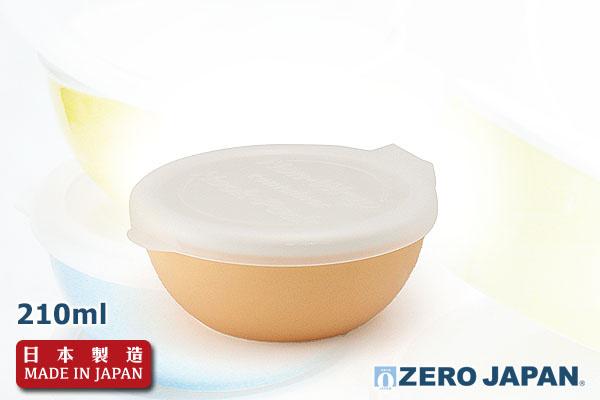 ZeroJapan優質儲存盒(小/210ml/粉橙色)|日本製造