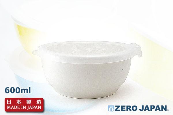 ZeroJapan優質儲存盒(大/600ml/白色)|日本製造