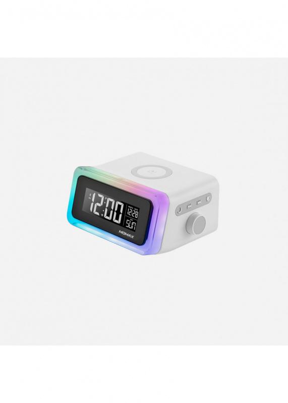 Momax - Q.Clock 2 幻彩鬧鐘藍牙無線充電座