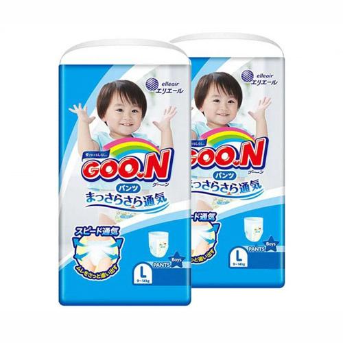 日本內銷版 Goo.N (Goon)大王學習褲 [增量裝][6包][2尺寸]
