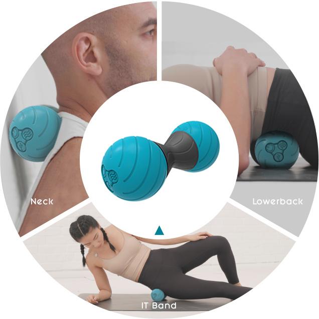 Polaryak Yoggi Ball 熱感按摩球
