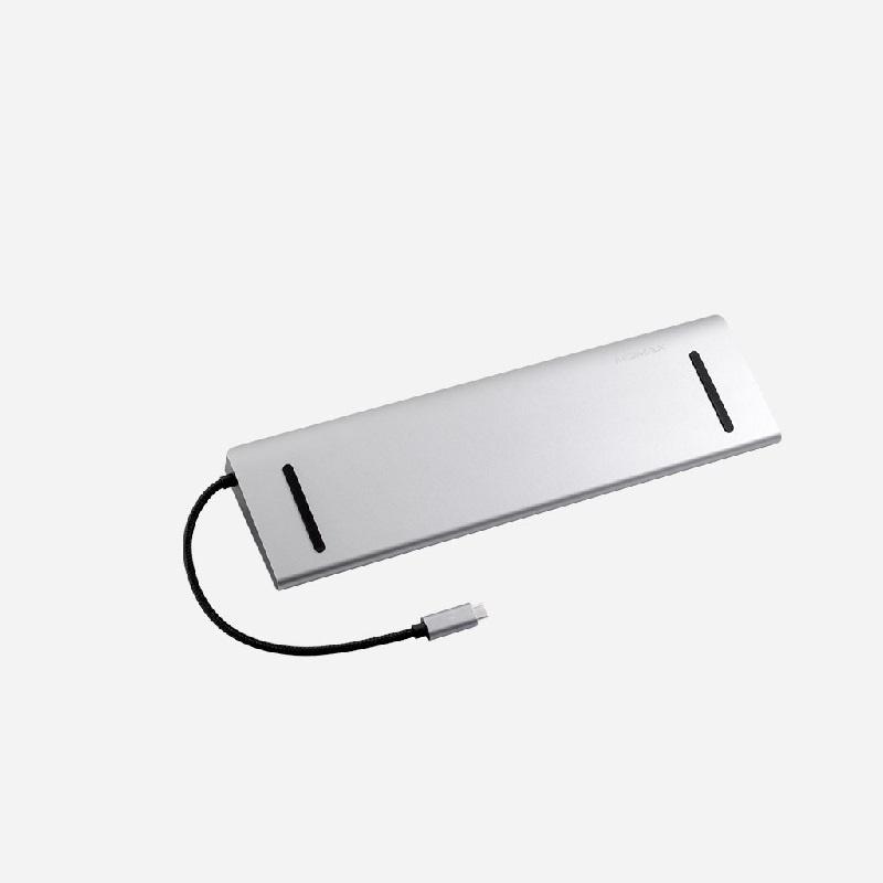 MOMAX One Link 12-in-1 Type-C 擴充器 DH10【行貨保養】
