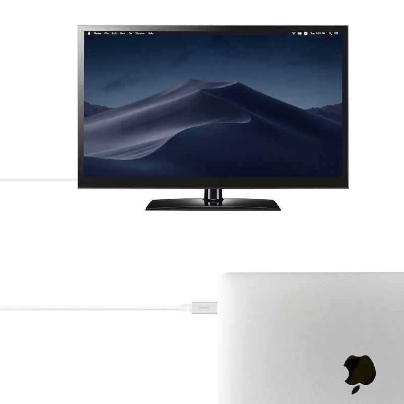 Moshi USB-C to HDMI 傳輸線 (2米)【行貨保養】