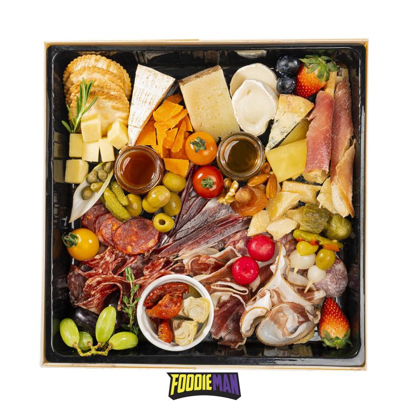 芝味英雄盒 - 多款歐洲芝士及火腿拼盤套裝