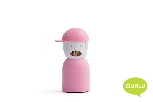 玩味男孩造型牙籤筒 (粉紅)