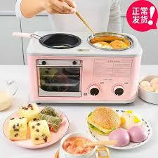 瑪莉阿姨早餐機多功能四合一家用麵包烘烤箱早餐機