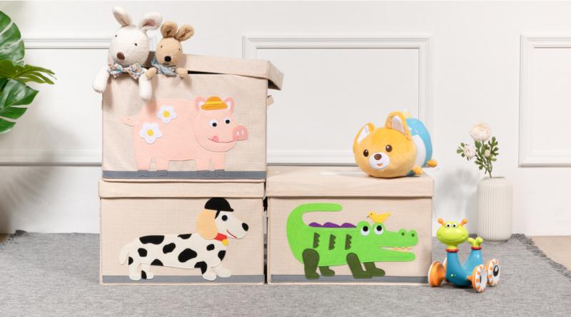 Novel Works Fabric Sterilization Toy Box 殺菌消毒玩具收納箱 [3款]
