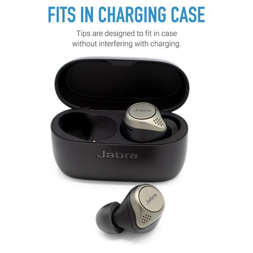 Comply TrueGrip Pro For Jabra True Wireless Earphones Elite 65t & 75t