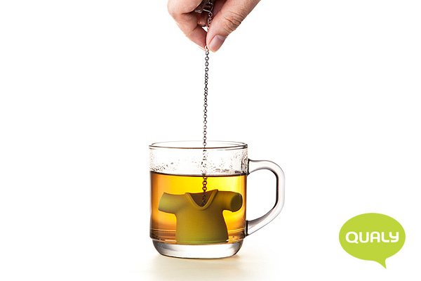 趣緻T恤造型茶葉濾器(黑)