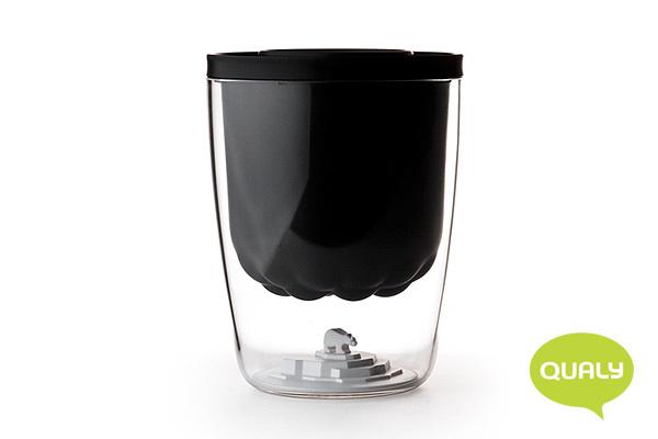 環保生態北極熊冰桶 (黑)