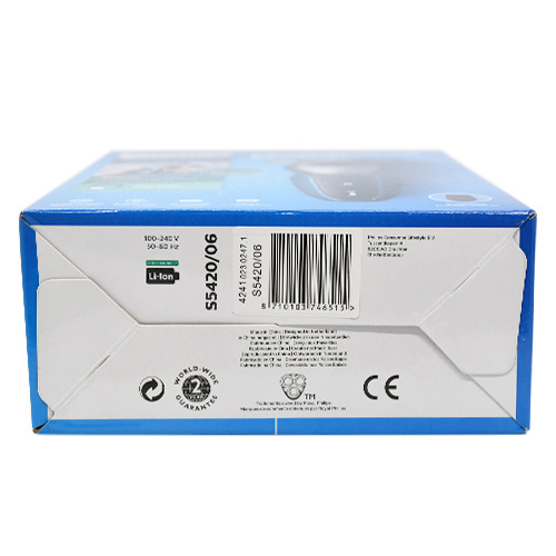 Philips 飛利浦 S5420/06 Aqua touch Electric Wet & Dry Shaver乾濕兩用電動剃鬚刨配精準鬢角刀