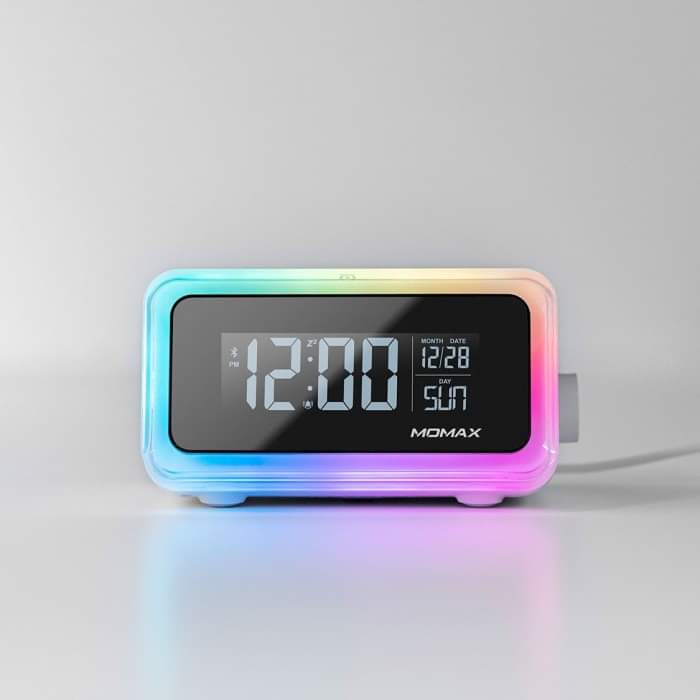 Q. Clock 2 幻彩鬧鐘藍牙無線充電座 QC2UKW