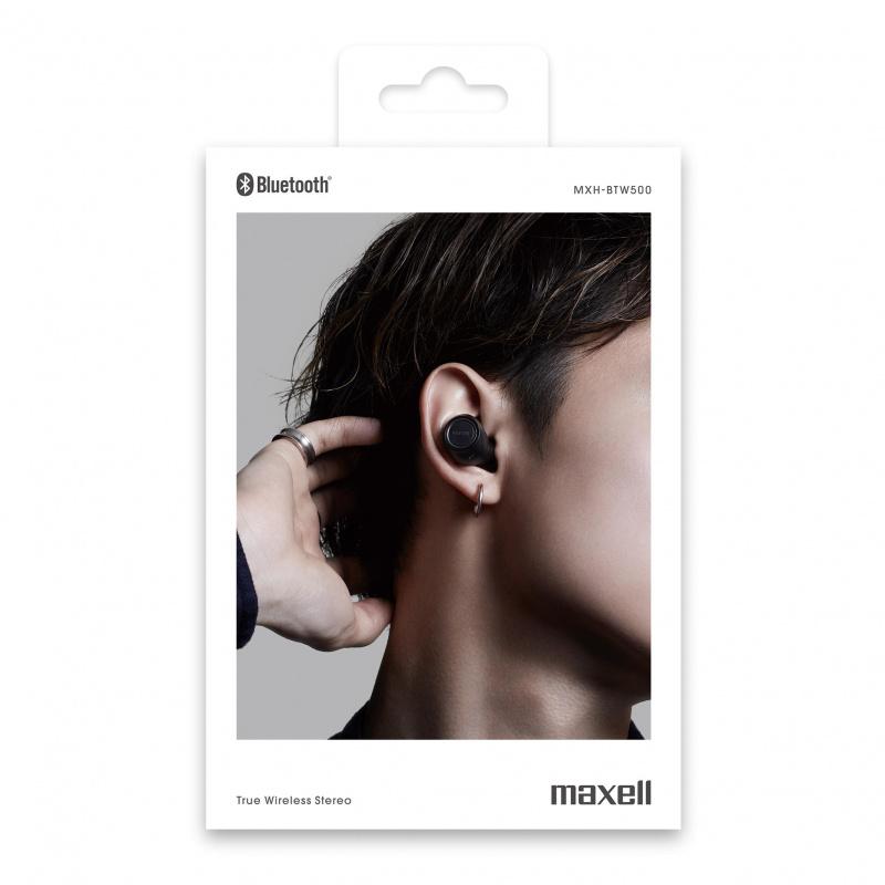 Maxell MXH-BTW500 真無線藍牙耳機 [4色]