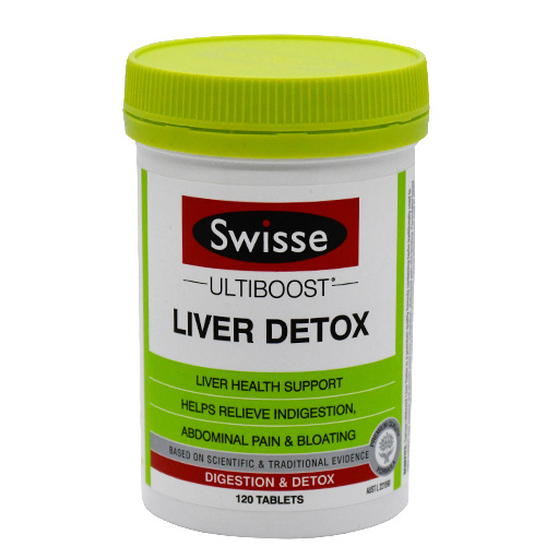 Swisse Ultiboost 護肝排毒片120粒