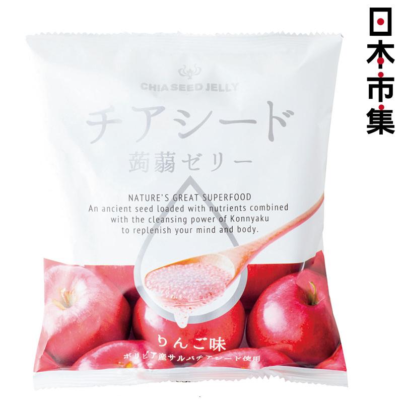 日版 若翔【蘋果味】奇亞籽蒟蒻啫喱 (1包10粒) 【市集世界 - 日本市集】