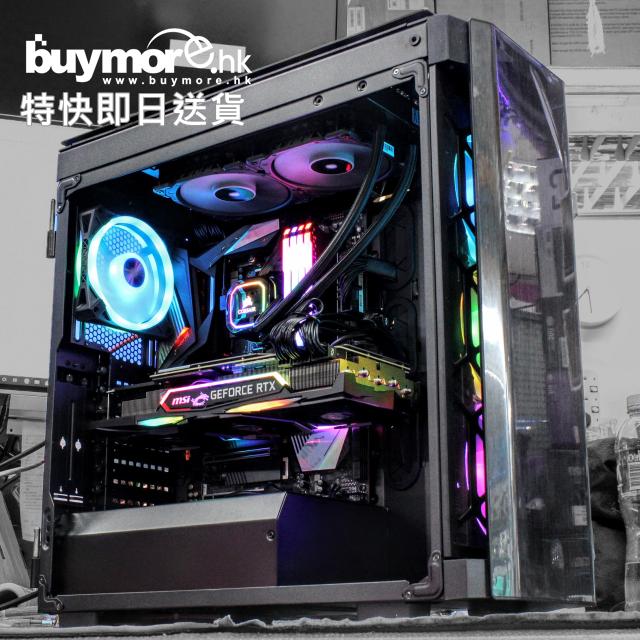💡未來科技 Intel i9-1000+ MSI GeForce RTX2080TI GAMING X TRIO 11GB機箱組合