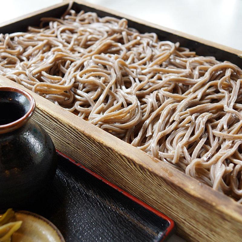 日本 葵食品 無鹽製麵 蕎麥麵 250g (3件裝)【市集世界 - 日本市集】
