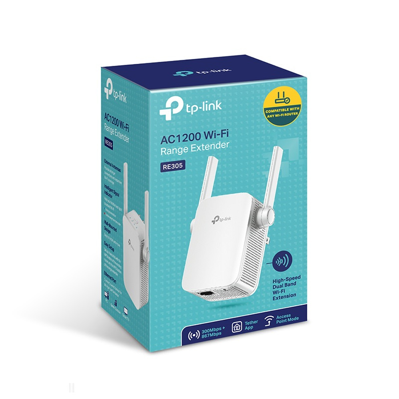 TP-Link Wi-Fi 訊號延伸器 [RE305]