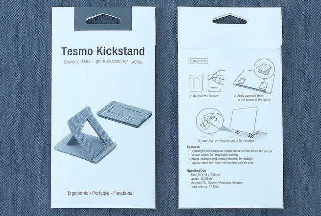 Tesmo KICKSTAND 隱形便攜式筆記本電腦支架