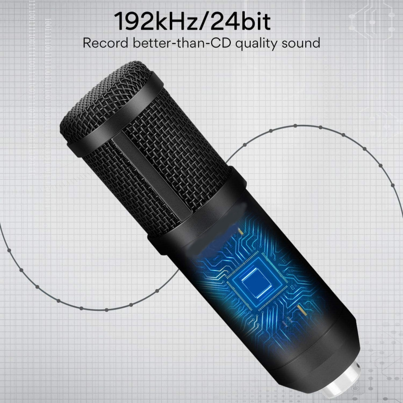 IPMIC STUDIO MICROPHONE VOCAL USB 電腦麥克風 (連支架)
