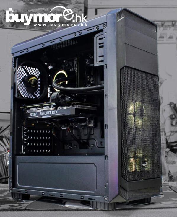 未來科技 AMD 3600+ ASUS ROG STRIX RX570 8G 機箱組合