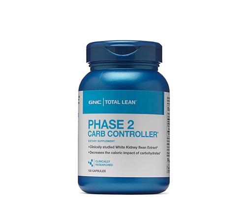 GNC Phase 2 Carb Controller® 白腎豆體重控制配方[120粒]