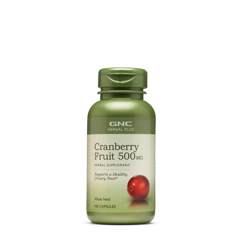 GNC HERBAL PLUS® 小紅莓 (蔓越莓) 500mg [90粒]