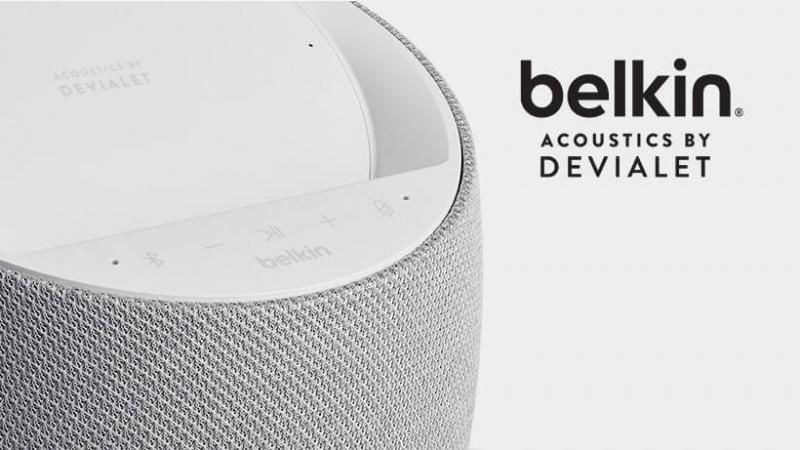 Belkin x Devialet SOUNDFORM™ ELITE Hi-Fi 無線充電智能喇叭[2色]