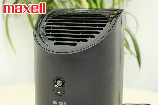 Maxell MRD技術離子風除臭抗菌機 (黑色)|日本製造