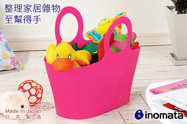 環保多用途買餸籃 (桃紅/大) 日本製造