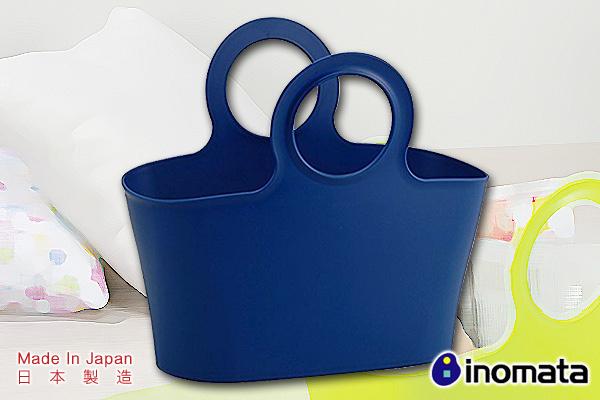 環保多用途買餸籃 (軍藍/大)|日本製造