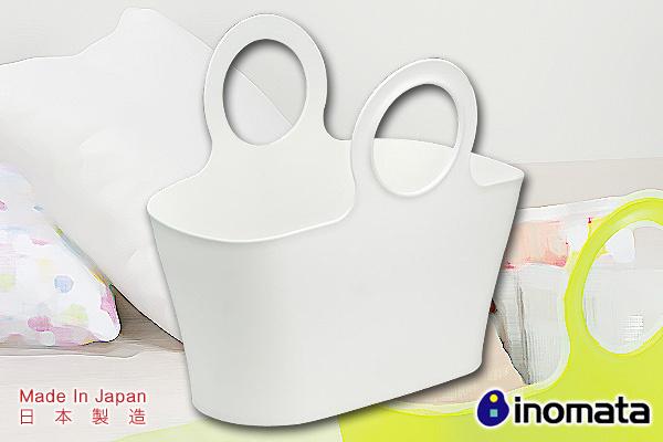 環保多用途買餸籃 (白/大)|日本製造