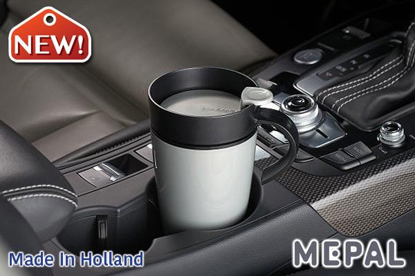 MEPAL|保溫咖啡杯 (銀色/275ml)|荷蘭製造