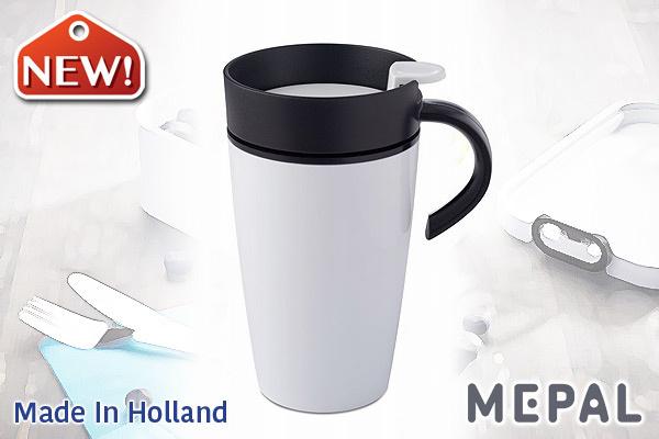 MEPAL|保溫咖啡杯 (白色/275ml)|荷蘭製造