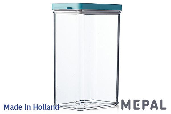 MEPAL|Omnia真空保鮮盒 (綠色/2000ml)|荷蘭製造