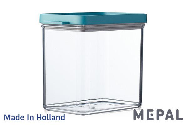 MEPAL|Omnia真空保鮮盒 (綠色/1100ml)|荷蘭製造