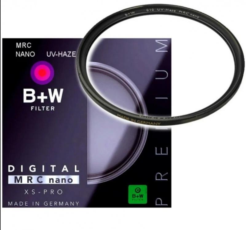 B+W MRC nano XS-PRO UV-HAZE Filter 超薄框保護鏡