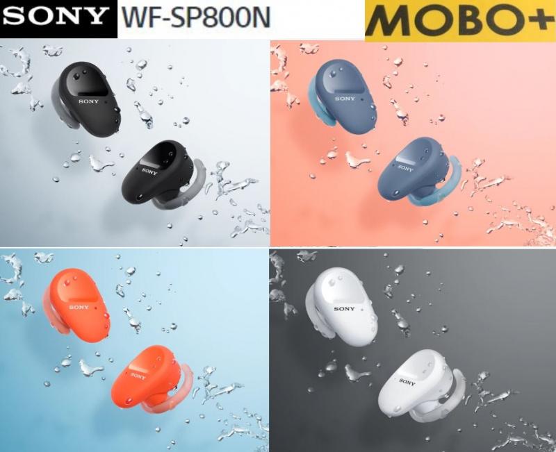 【行貨】Sony WF-SP800N 運動真無線降噪耳機 [4色]
